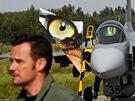Mise českých pilotů v s gripeny v Pobaltí (31.8.2012)