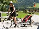 Pro cyklistiku s d�tmi je ar�na ide�ln�