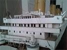 Replika Titanicu je přesná do posledního detailu, její autor kvůli tomu...
