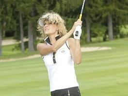 Kate�ina Sto�esov� se z��astnila charitativn�ho turnaje Zibi Cup.