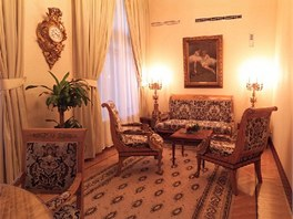 Prezidentský apartmán stojí na noc 80 tisíc rublů.