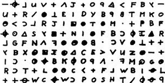Hr�l si s polici�. M�di�m i detektiv�m pos�lal Zodiac �ifrovan� dopisy.