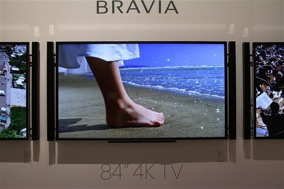 Sony už letos do Česka přiveze 84palcovou UD LED televizi.