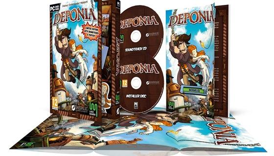 Deponia - obsah herní krabice