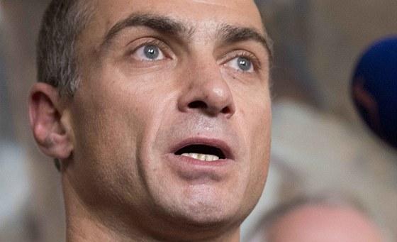 Šéf baletu Národního divadla Petr Zuska vystoupil 7. září v Praze na tiskové