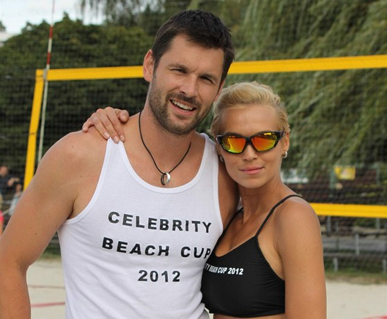 Hana Ma�l�kov� na ned�vn�m volejbalov�m turnaji p�iznala, �e je op�t