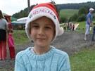 Vánoce v Sobotíně, rozkrajovala se i jablka.
