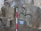 Archeologové objevili na místě starého pohřebiště v Liberci kostry staré až 400
