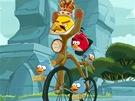 Freddie Mercury a Angry Birds