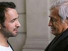 Jean Paul Belmondo a Jean Dujardin ve filmu Muž a jeho pes