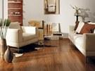 Linnea Living, dřevěná podlaha značky Kährs, dekor ořech Cocoa, 1 272 Kč/m2