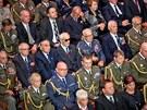 Poh�eb armádního generála Tomá�e Sedlá�ka na Vítkov� (4. zá�í 2012, Praha)