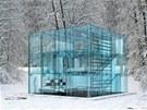 V unik�tn�m konceptu domu je v�e ze skla, a to v�etn� schodi�t�. Metr �tvere�n�...