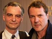 Ivan Trojan a Sebastian Koch k filmu Ve stínu