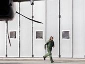 Na hradeckém letišti přistávají první stroje na leteckou přehlídku CIAF. (7. 9.