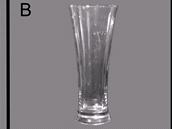 Srovnání sklenice používaných v experimentech