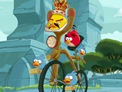 Freddie Mercury a Angry Birds