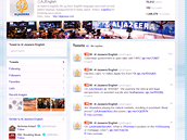Na potvrzeném twitter kanálu Al-Džazíra funguje dále, o útoku se nezmiňuje