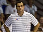 Český reprezentační trenér Pavel Budínský.