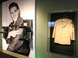 Z výstavy věnované Elvisovi Presleymu