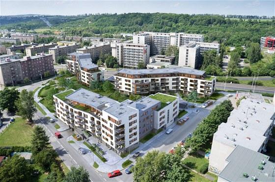 Park Hloubětín - energeticky pasivní byty
