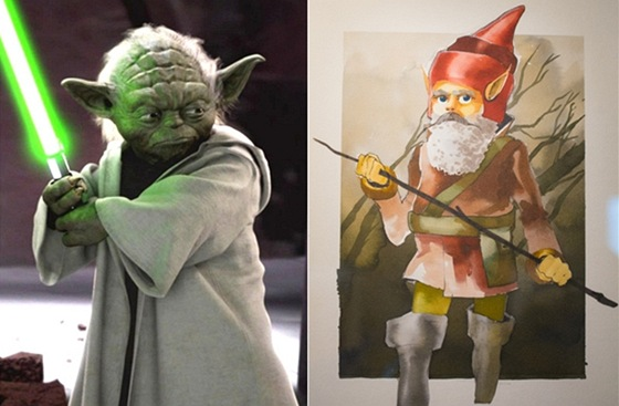 Yoda z Hv�zdn�ch v�lek