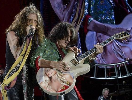 Aerosmith koncertovali 7. srpna 2012 pro 18 tisíc diváků v kalifornské