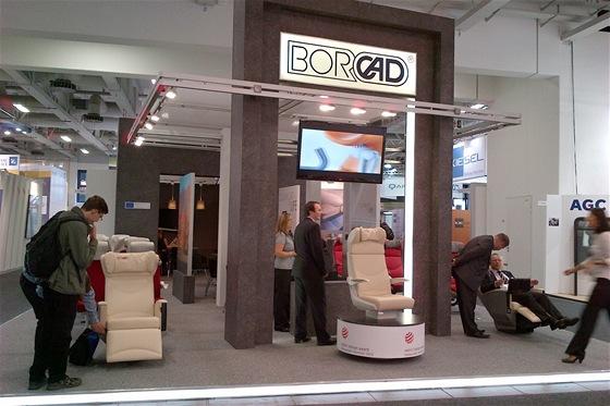 Nová ergonomická železniční sedadla společnosti Borcad z Fryčovic u Frýdku