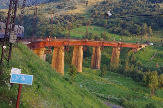 Viadukt v Užoku