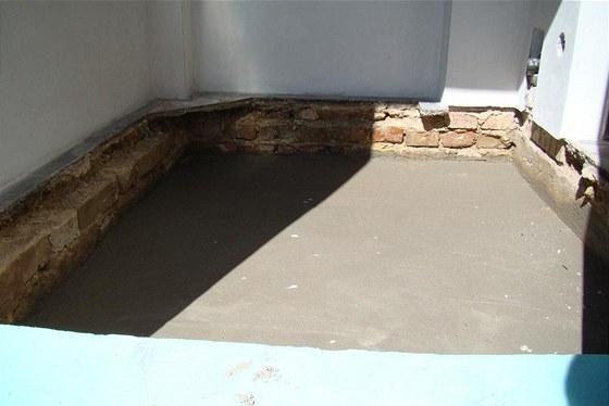 Příprava verandy na instalaci podlahového topení