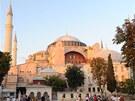 Hrdá budova mešity Hagia Sofia