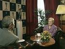 Pořad Na plovárně - Madeleine Albrightová