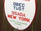 Osada New York je vzd�len� asi dva kilometry od Suchdola nad Lu�nic�