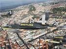 Breitling st�ha�ky nad Prahou. Albatros L-39