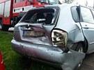 Na zaparkovaném automobilu kia vznikla škoda 80 tisíc korun.