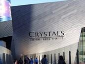 City Center, příchod k butikům Crystals