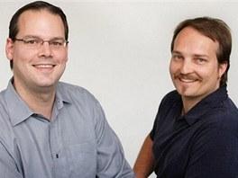 Greg Zeschuk a Ray Muzyka. Dvojice doktorů, která v roce 1995 založila
