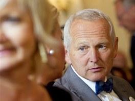 Kardiochirurg Jan Pirk při zahájení předvolební kapaně prezidentského kandidáta...
