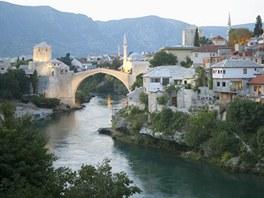 Mostar v Bosn� a Hercegovin�