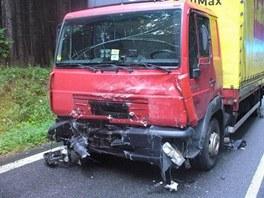 Tragická dopravní nehoda mezi Rozkoší a Skálou.