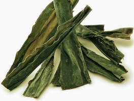 Kombu je velmi bohatá na kyselinu algináovou, která je nestravitelná a působí