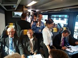 Špičky evropské železnice i odbornou veřejnost zaujala ergonomičnost a kvalita