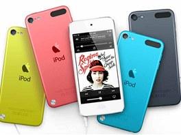 P�ehr�va�e iPod Touch jsou ten�� ne� p�edchoz� generace