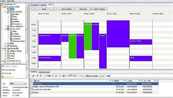 Díky TeamOnline CRM máte komunikaci se zákazníky pod kontrolou