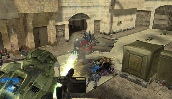 V prvn�m d�le st��le�ky Halo se automaticky dopl�ovalo brn�n�, v druh�m pak p�ibyla i regenerace zdrav�.