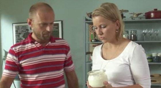 Milan Polačko a Iveta Fabešová