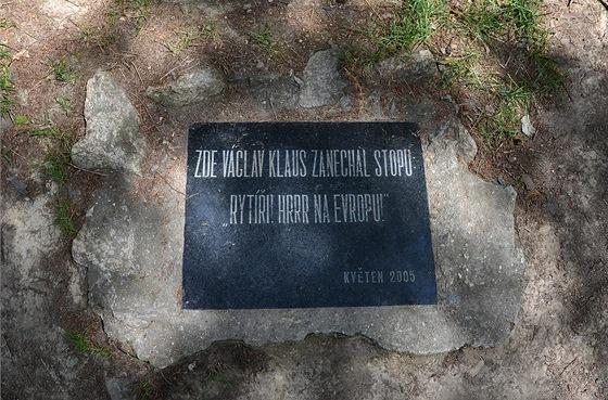 Bájnou horu navštívil i prezident Václav Klaus. Tradiční český lidový humor
