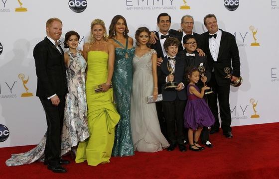 Emmy 2012 - Herecký tým seriálu Taková moderní rodinka