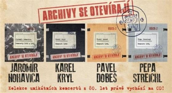 Vizuál řady Archivy se otevírají