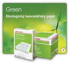 kancelářský papír green